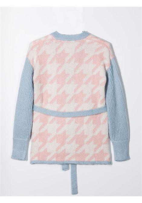 Houndstooth motif cardigan SIMONETTA | 1P9060 W0046500AG