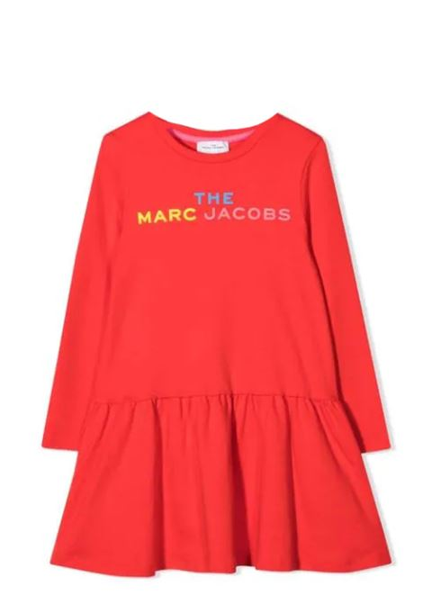 Little girl dress with print THE MARC JACOBS KIDS | W12380T97TE