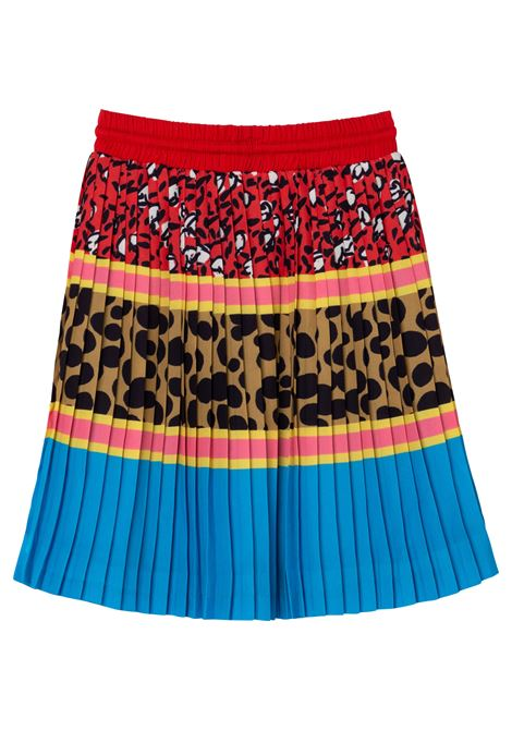 Patterned pleated skirt THE MARC JACOBS KIDS | W13120Z40