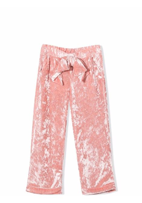Trousers with bow U+E' BY MISS GRANT | UE001902