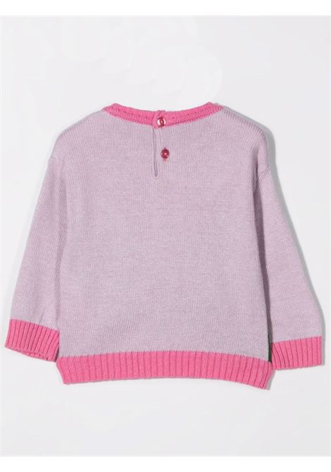 Crewneck sweater with embroidery U+E' BY MISS GRANT | UE007205