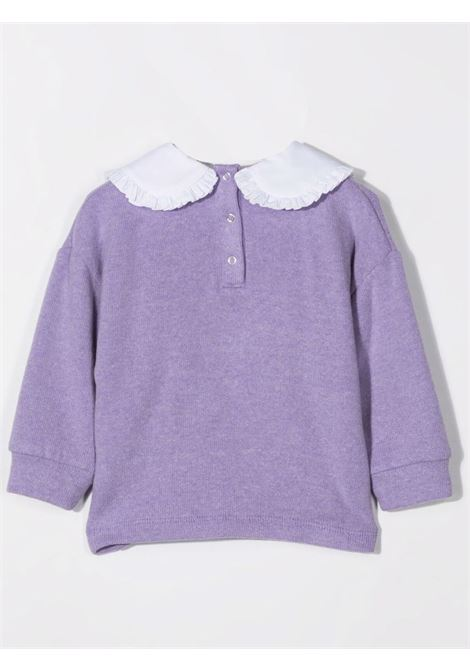 Sweatshirt with embroidery U+E' BY MISS GRANT | UE008405