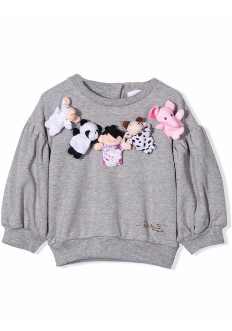 Sweatshirt with applications U+E' BY MISS GRANT | UE009104