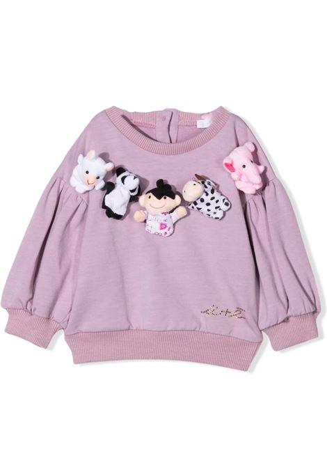 Sweatshirt with applications U+E' BY MISS GRANT | UE009105