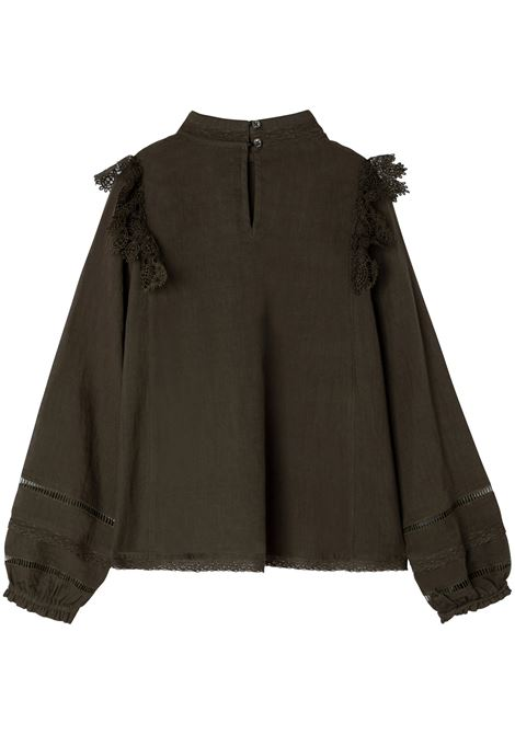 Blouse with ruffles Zadig & voltaire | X15284T655