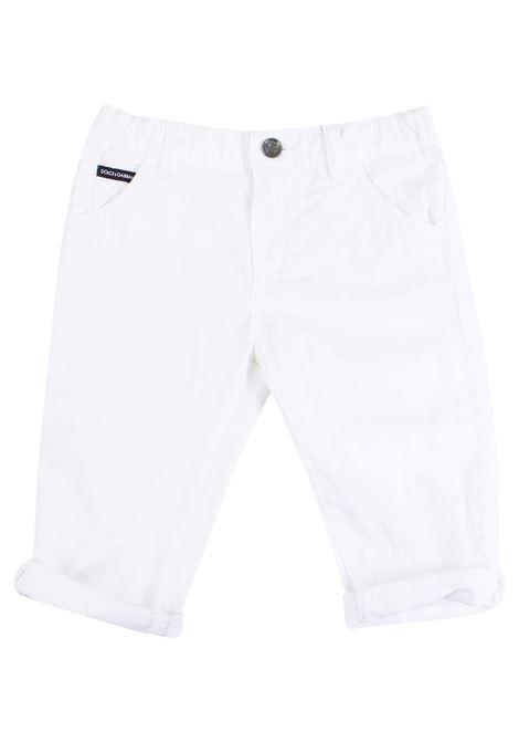 Pantalone neonato DOLCE & GABBANA KIDS | Pantaloni | L11F25 LY033W0111