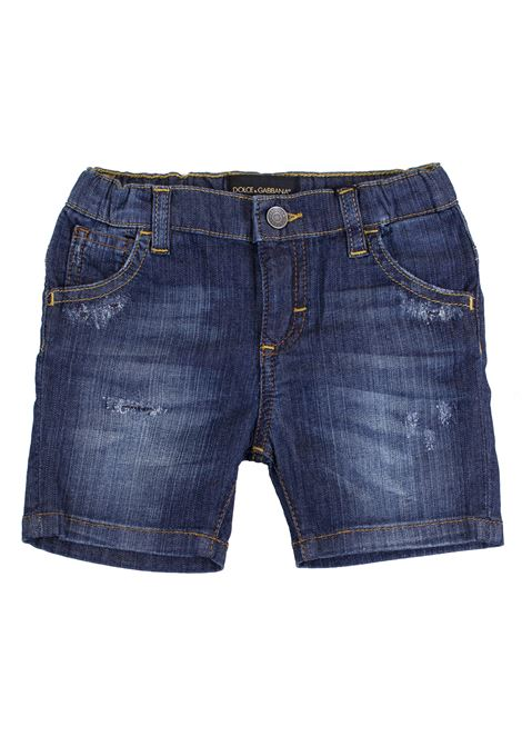 Shorts neonato denim DOLCE & GABBANA KIDS | Short | L11Q75 LD60IB0339