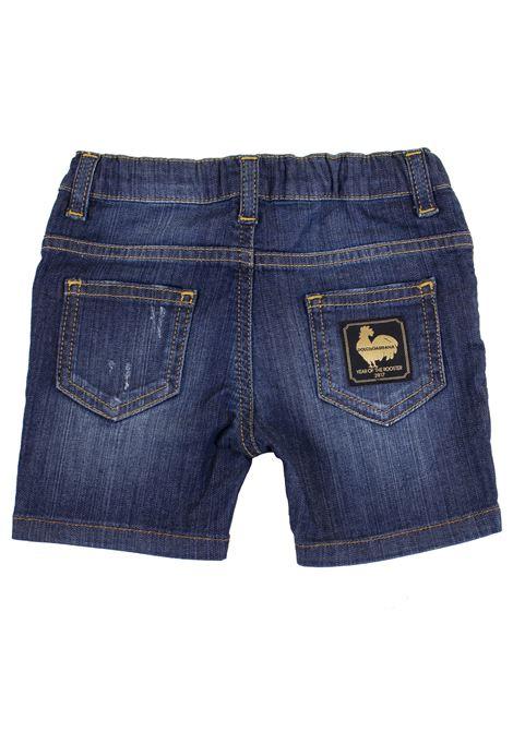Shorts neonato denim DOLCE & GABBANA KIDS | L11Q75 LD60IB0339
