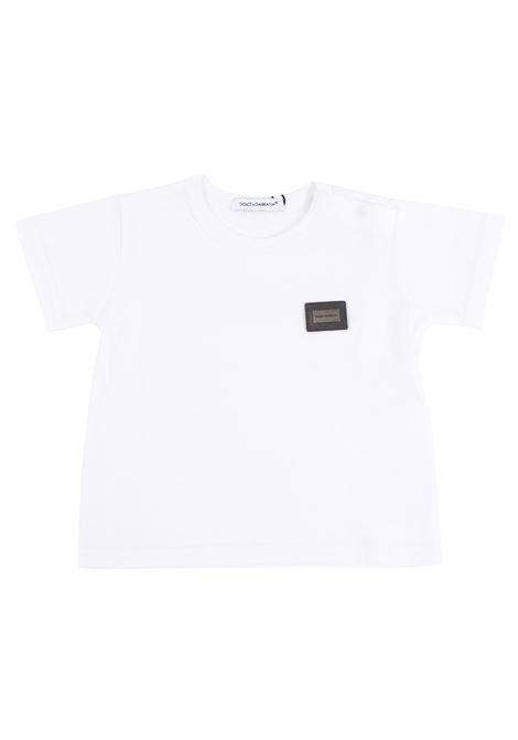 Baby T-shirt DOLCE & GABBANA KIDS | T-shirt | L1JT0Z G7FWOW0800