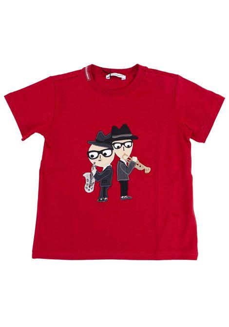 T-shirt neonato DOLCE & GABBANA KIDS | T-shirt | L1JT4J G7J1WR0026