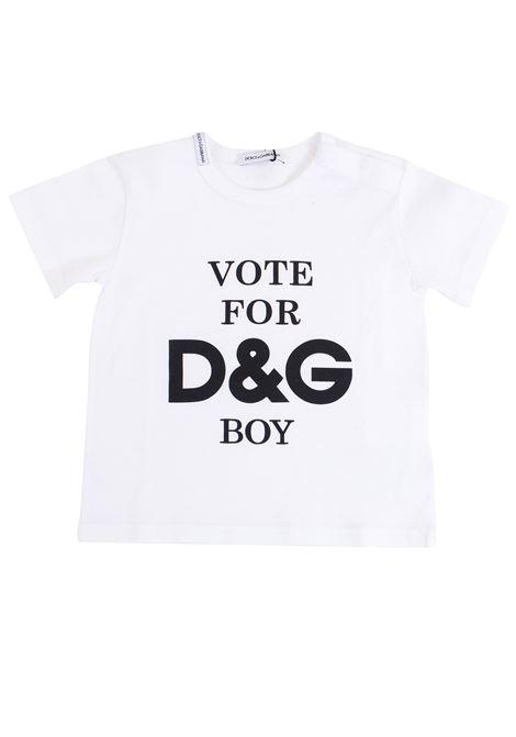 T-shirt neonato DOLCE & GABBANA KIDS | T-shirt | L1JT65 G7MTNHWM13