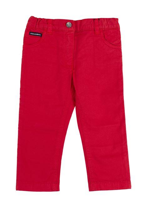 Pantalone neonato DOLCE & GABBANA KIDS | Pantaloni | L11F25 LY033R2254