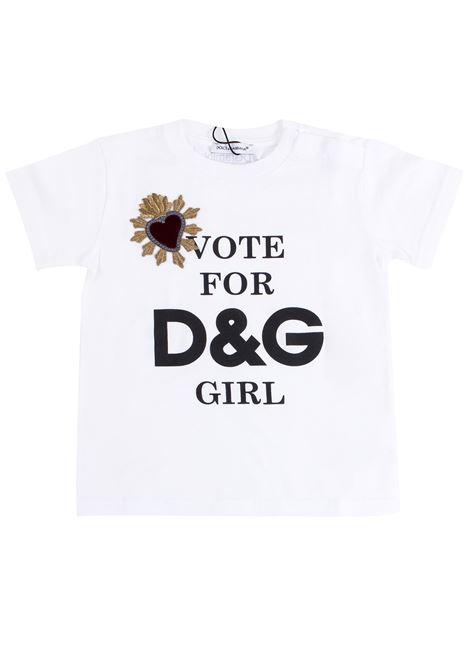 T-shirt neonata DOLCE & GABBANA KIDS | T-shirt | L2JTAF G7MXMHAM16