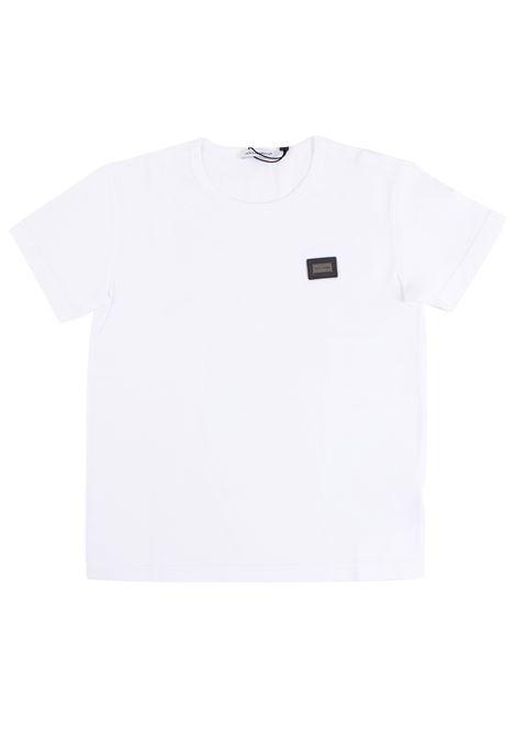 T-shirt bambino DOLCE & GABBANA KIDS | T-shirt | L4JT0Z G7FWOW0800