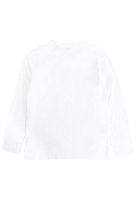 T-shirt bambino con applicazione DOLCE & GABBANA KIDS | L4JT1V G7IISW0800