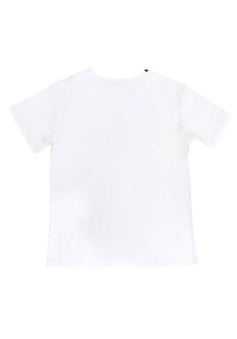 T-shirt bambino con applicazioni DOLCE & GABBANA KIDS | L4JT4E G7IPQW0800