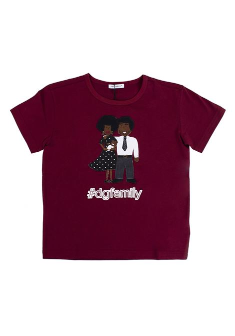 T-shirt child with application DOLCE & GABBANA KIDS | T-shirt | L4JT4I G7KDFR0369