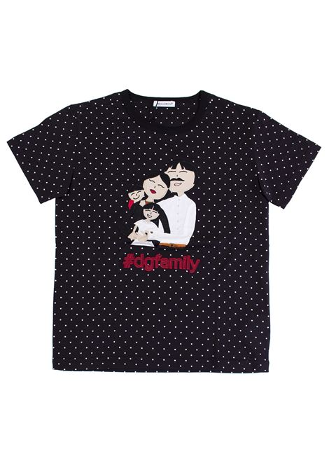 T-shirt child with application DOLCE & GABBANA KIDS | T-shirt | L4JT4I G7KDKHN19W