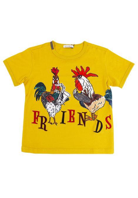 T-shirt bambino con stampe DOLCE & GABBANA KIDS | T-shirt | L4JT4S G7JMOHG688