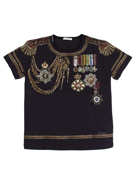 Kids T-shirt with print DOLCE & GABBANA KIDS | T-shirt | L4JT5J G7LMIHNDG8