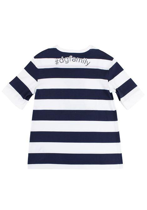 T-shirt bambina a righe DOLCE & GABBANA KIDS | L5JT6Z G7KJUHW739