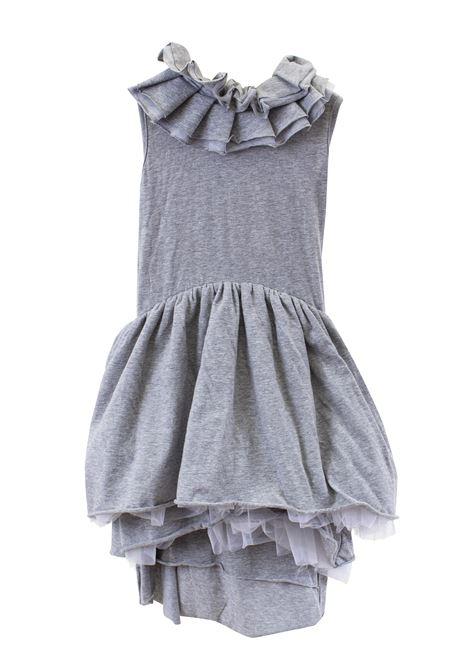 Little girl dress with flounces NUNUNU | Dress | NU176907
