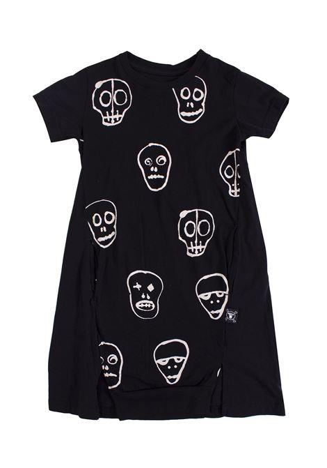 Little girl dress with skulls NUNUNU | Dress | NU177701