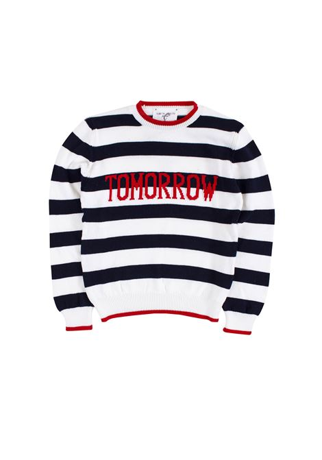 Little girl striped sweater ALBERTA FERRETTI JUNIOR | Sweaters | 019302060