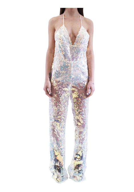 Woman's suit with sequins ALBERTO AUDENINO | Suits | ANNE01