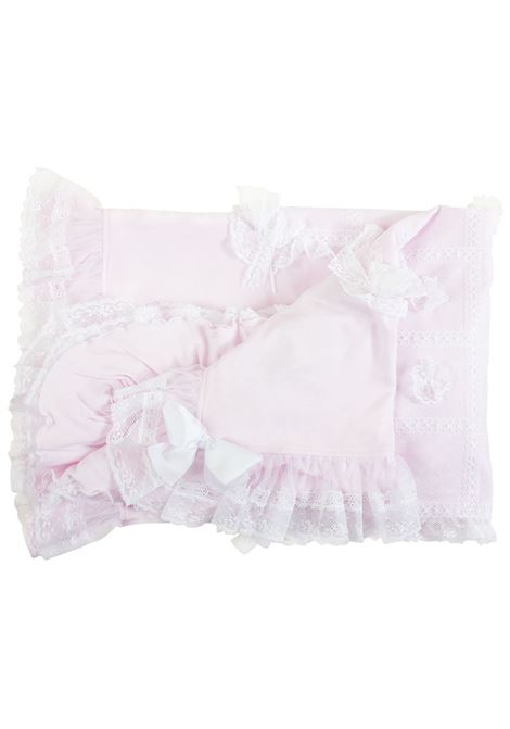 Embroidered newborn blanket ALETTA | Blankets | RA99211271
