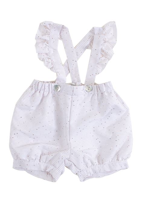 Newborn trousers with suspenders ALETTA | Trousers | RW99265370