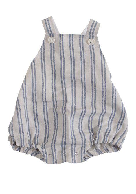 Linen newborn dungarees ALETTA | Salopette | RZ99299687