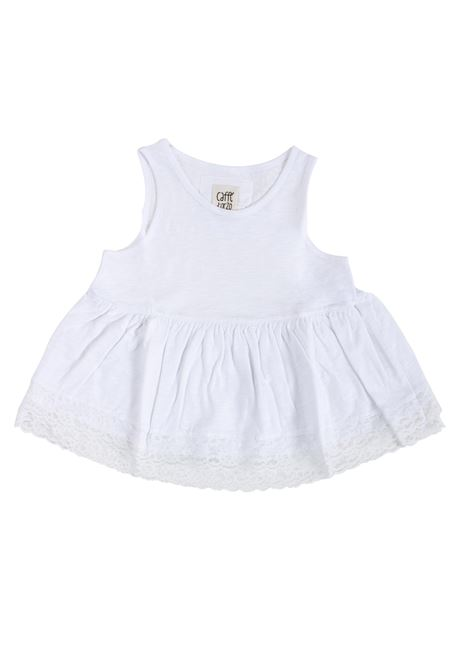 Top  bambina in cotone CAFFE' D'ORZO | Top | ROMOLA05