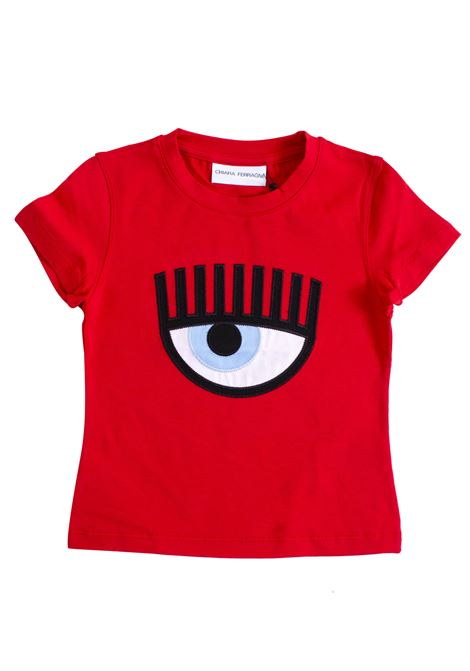 Little girl logo t-shirt CHIARA FERRAGNI KIDS | T-shirt | CFKT00800