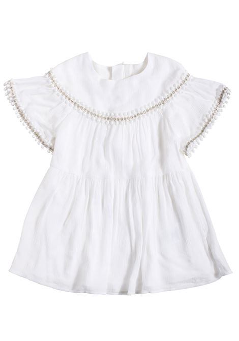 Newborn dress with embroidery CHLOE' KIDS | Dress | C02229117