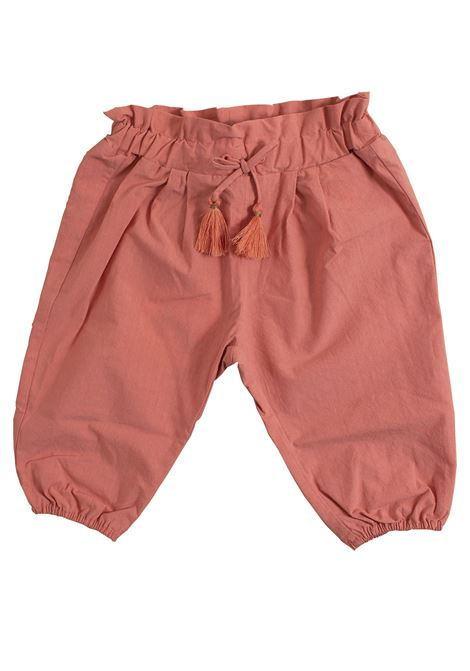 Newborn trousers with drawstring CHLOE' KIDS | Trousers | C04137356