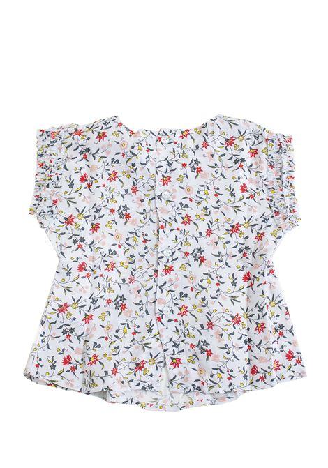 Newborn flower shirt CHLOE' KIDS   C05299Z46