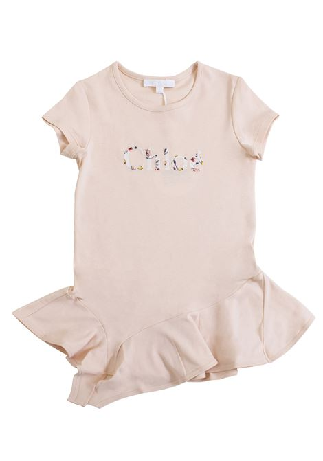 Little girl dress with embroidery CHLOE' KIDS | Dress | C1273244B