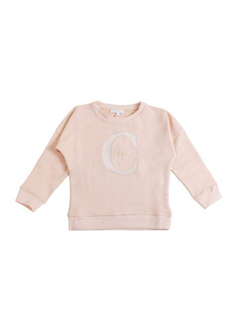 Girl sweatshirt with embroidery CHLOE' KIDS | Sweatshirts | C15A4043A
