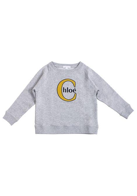 Girl sweatshirt with embroidery CHLOE' KIDS | Sweatshirts | C15A41A06