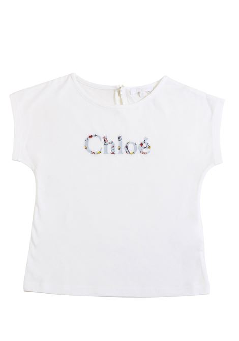 Girl t-shirt with embroidery CHLOE' KIDS | T-shirt | C15A51117