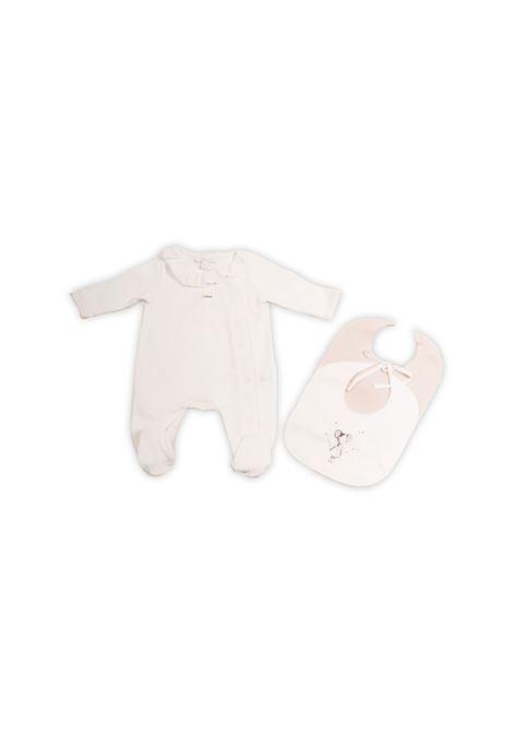 Tutina neonato con scollo a balze CHLOE' KIDS | Tutine | C97233117
