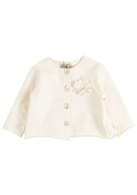 Newborn jacket with flower DE CAVANA | Jackets | 06/918034012
