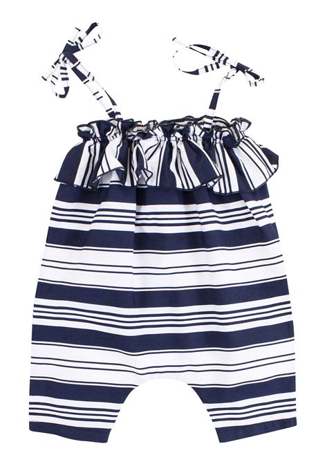 Newborn striped romper DE CAVANA | Rompers | 17/9180008327