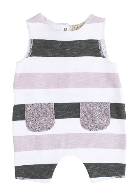 Newborn striped romper DE CAVANA | Rompers | 17/918039065