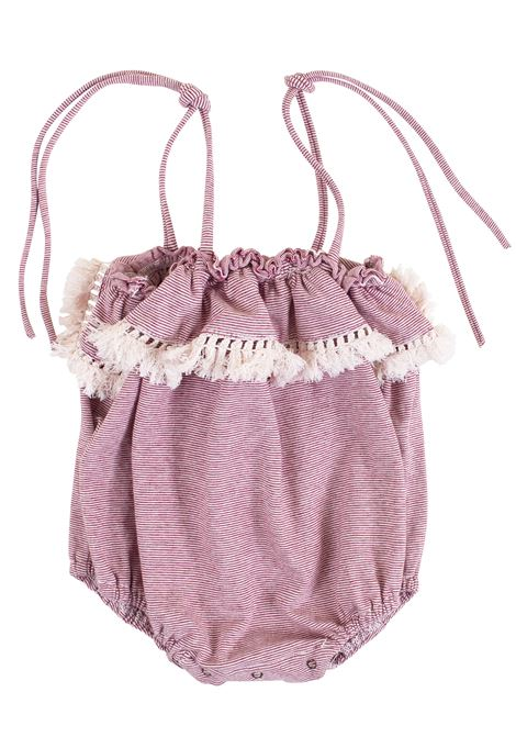 Newborn romper with tassels DE CAVANA | Rompers | 17/918040116