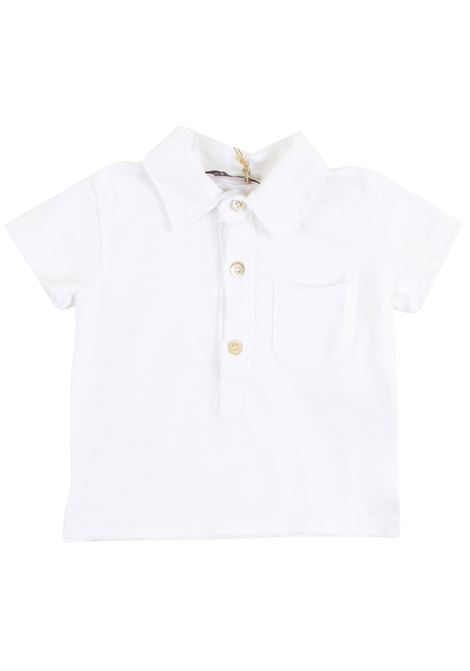 Newborn polo shirt with pocket