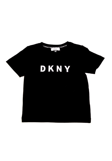 Baby T-shirt with printed logo DKNY KIDS | T-shirt | D25C3009B