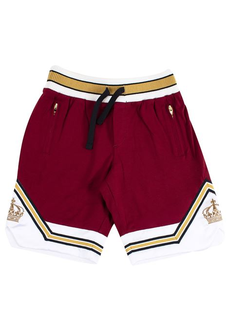 Bermuda shorts with embroidery DOLCE & GABBANA KIDS | Bermuda | L4JQE3 G7RIER5232