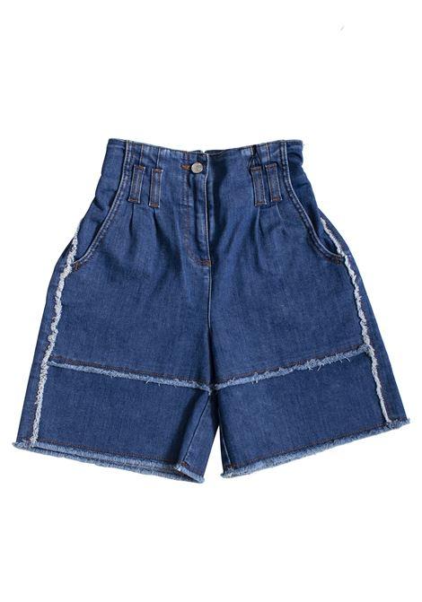 High waist baby shorts DOLCE & GABBANA KIDS | Trousers | L52Q42 LD815B0665